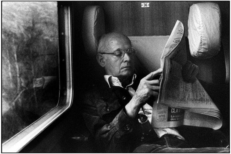 Martine Franck 镜头下的 布列松,1967