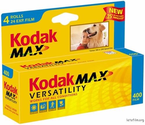 kodak max400