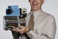 你知道世界上第一台数码相机长啥样么?