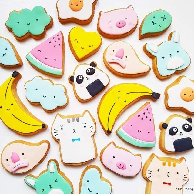 每一块饼干都可爱到不行