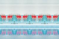 奇幻简约视觉感十足的泳池大片