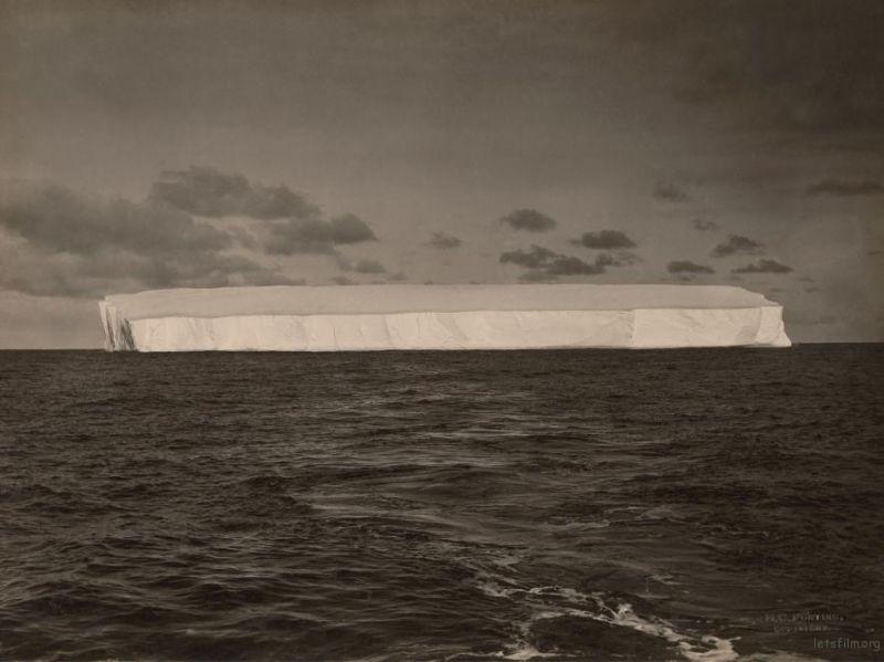 海上的浮冰