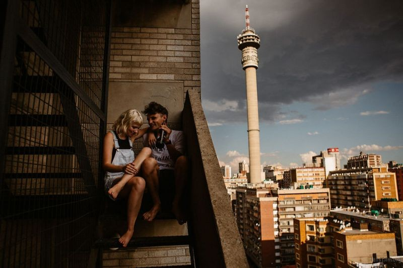 Johannesburg, South Africa by Katy Weaver
