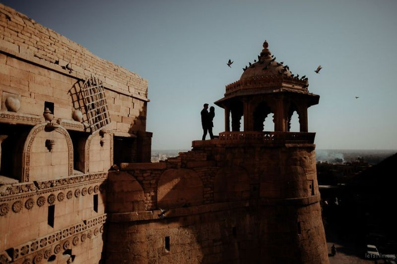 Jaisalmer Fort, India by James Broadbent
