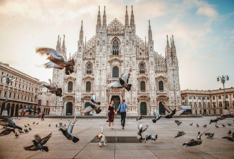 Milan, Italy by Aisha Khan