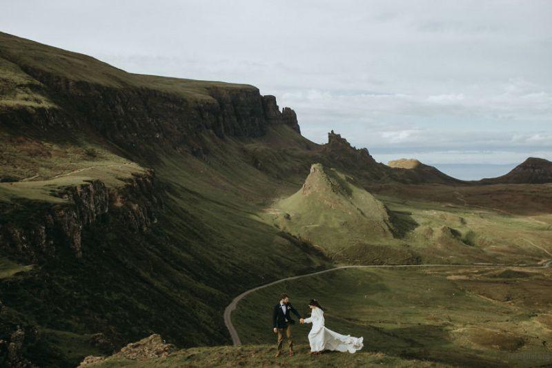 Quiraing Isle Of Skye, Scotland by Keegan Cronin