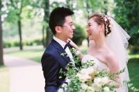 [15158] 植物园里的胶片婚纱