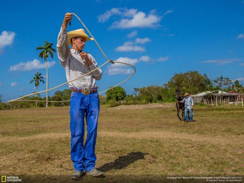 摄影师︰ P. Warner 作品名称:Cuban Cowboy(美国)