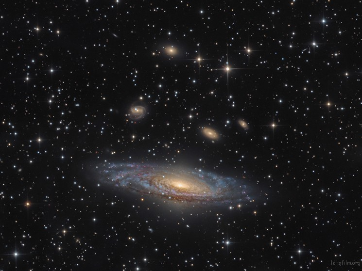 NGC 7331 – The Deer Lick Group © Bernard Miller (USA)