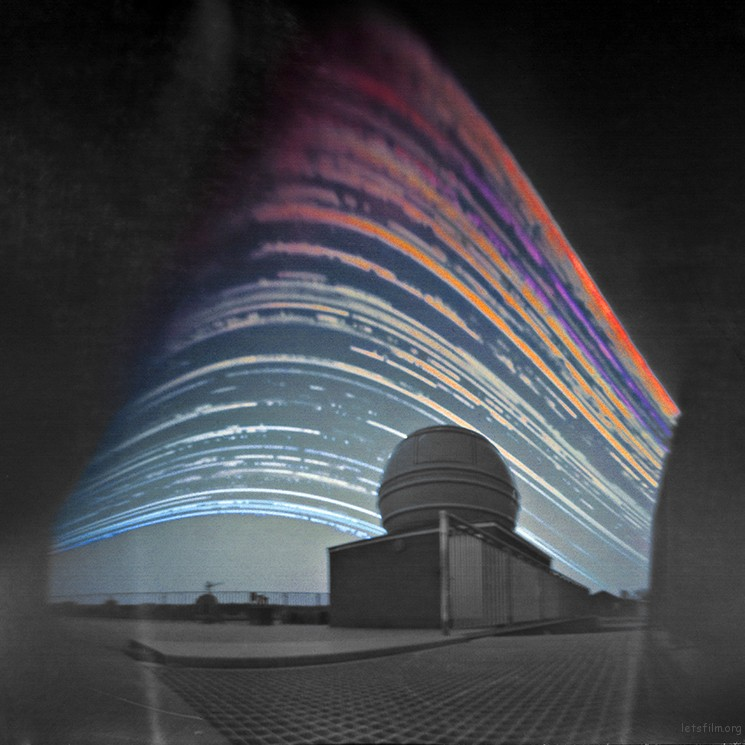 Solar Trails above the Telescope © Maciej Zapior (Poland)