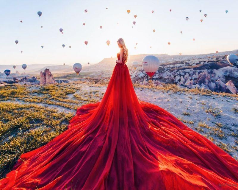 Cappadocia, Turkey. Model: Maria