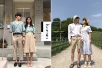 有质感又不过于肉麻:七夕就学习韩国这对时髦情侣的「微甜」Couple Look