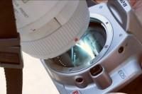 相机直接拍太阳的话。。。连 CMOS 都给融化掉了