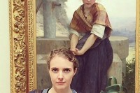 在博物馆的收藏里遇到自己,难道这只是巧合?