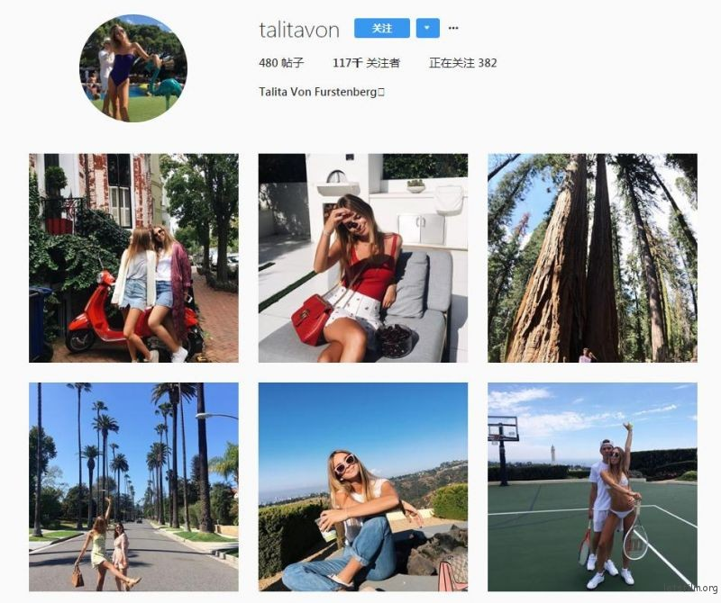 image via Talita's Instagram