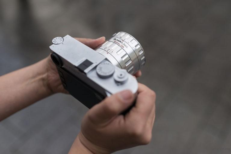 Oprema Jena Biotar 58mm f/2 实际安装示意图