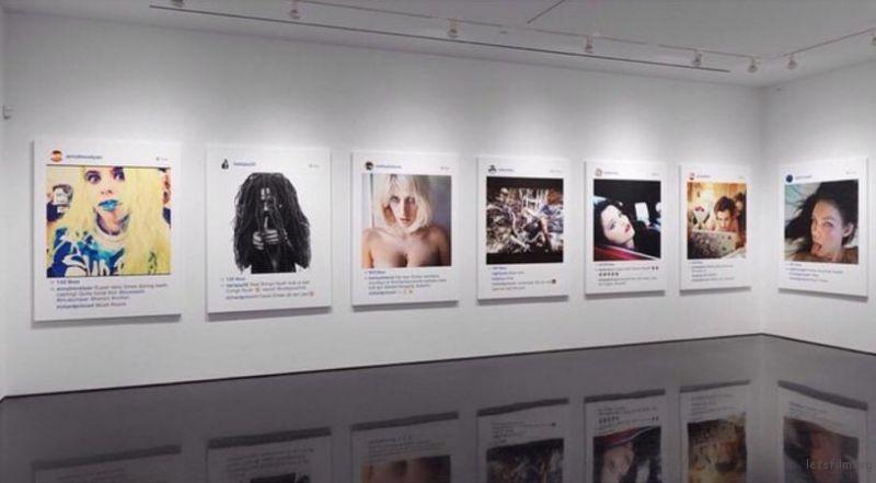 Richard Prince 展览的照片