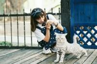 [15802] 吉他少女撸猫记