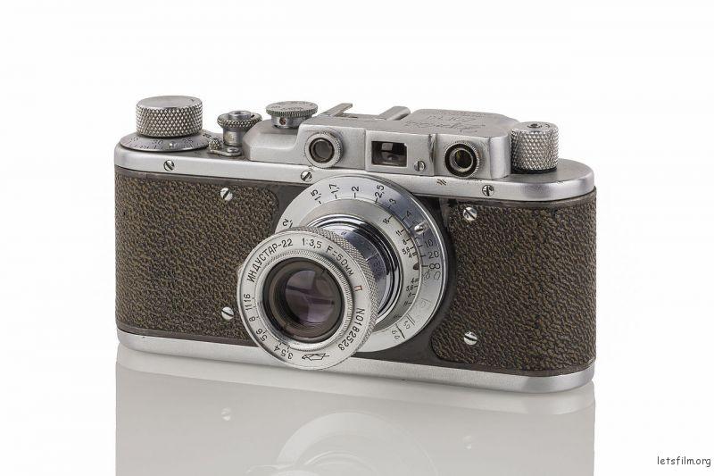 Zorki 1D,以 Leica II 为蓝本仿制