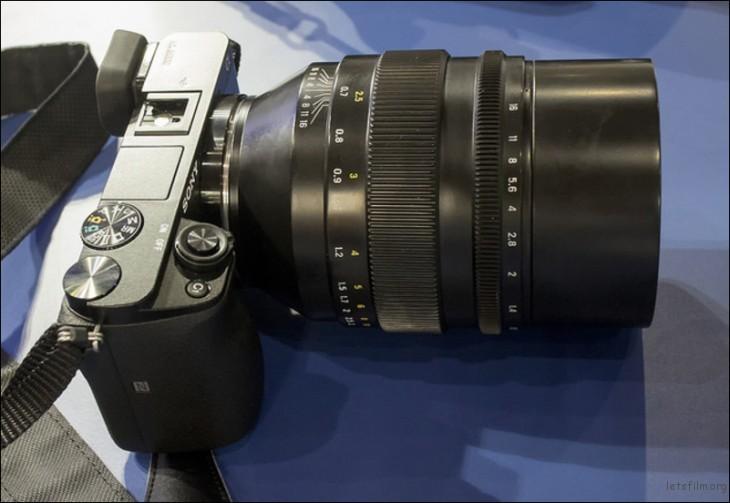 Zenitar 50mm f/0.95
