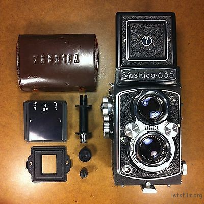 film-tested-yashica-635-tlr-camera-80mm-lens-complete-35mm-adapter-kit-case-cap-c6ffd4bac8eca45f1ee2ecce60503490