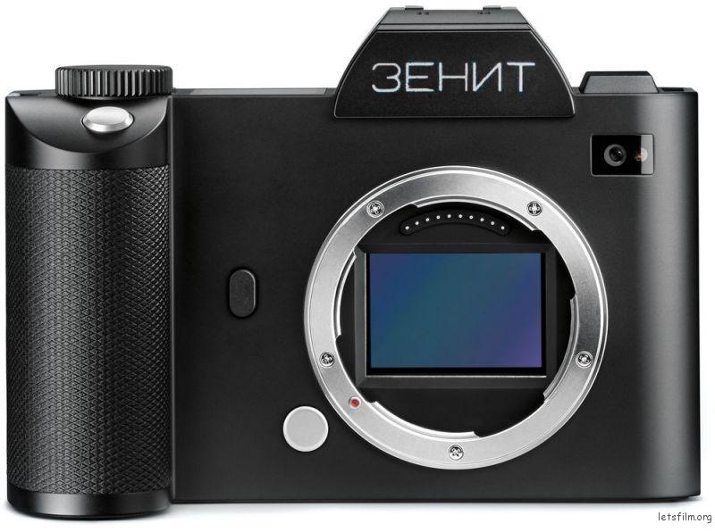 ZENIT 全幅无反相机,Leica SL 外形的网络概念图