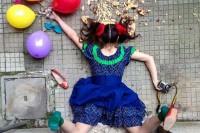 罗马摄影师另类思考,拍出超华丽的时尚意外身亡照片广受好评!