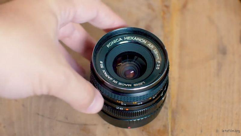 Konika Hexanon 28mm f/3.5