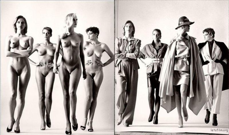生涯最具代表的名作Big Nudes,也是首次刊登于《Vogue》France, Paris, 1981 的作品