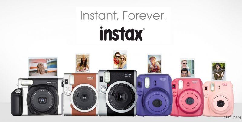 Instax 系列(image via google)