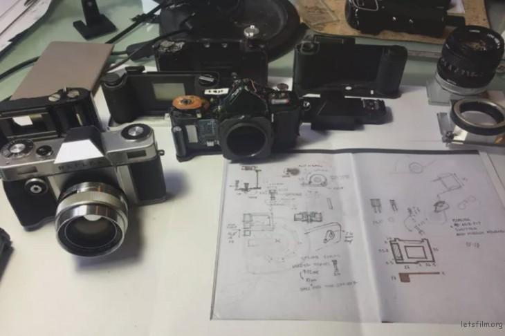 相机设计师的工作台