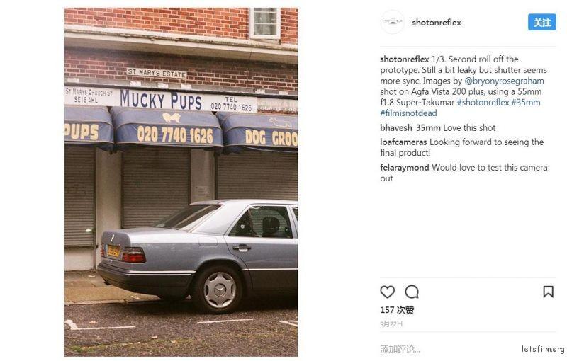 Instagram 上的样片