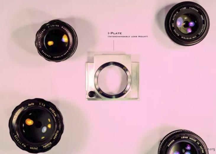 镜头卡口模块 I-PLATE