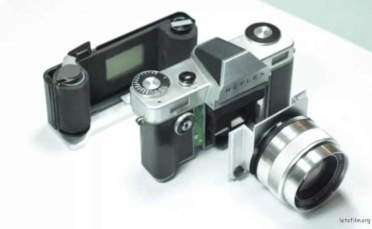 相机模块化示意图