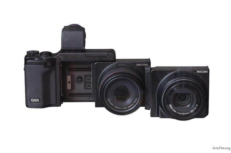 一套理光GXR:机身,A12微距镜头组以及P10 28-300mm镜头组