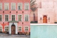 在日常生活中巧遇导演Wes Anderson:搜集了粉彩色对称光景的Instagram帐号