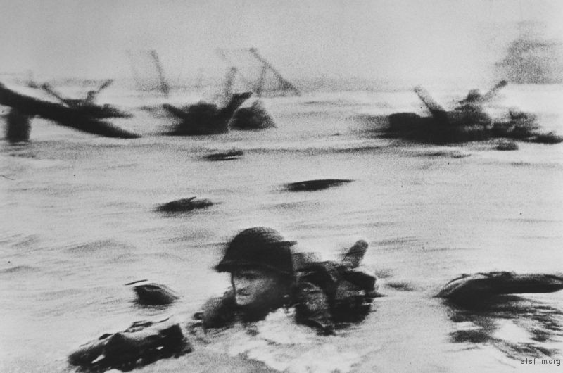 D-Day,诺曼底登陆,by Robert Capa,1944