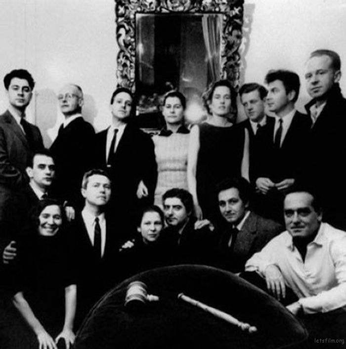 玛格南图片社部分创始人及成员,1957