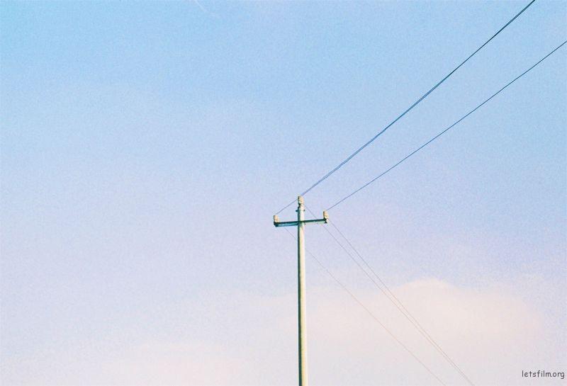 夏末的树影和微风