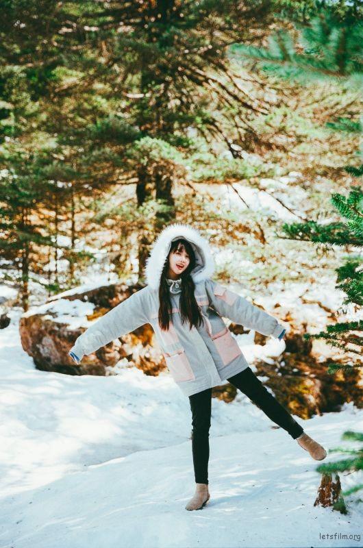 我們白色的雪呀 (7)