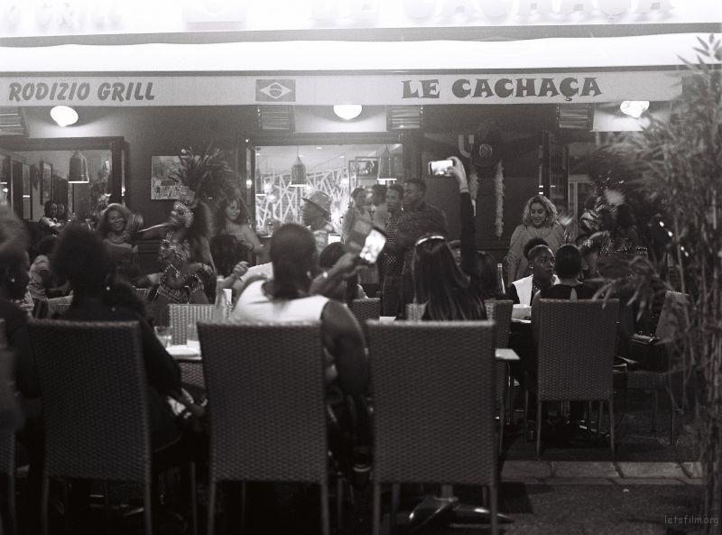 夏夜的巴西餐厅