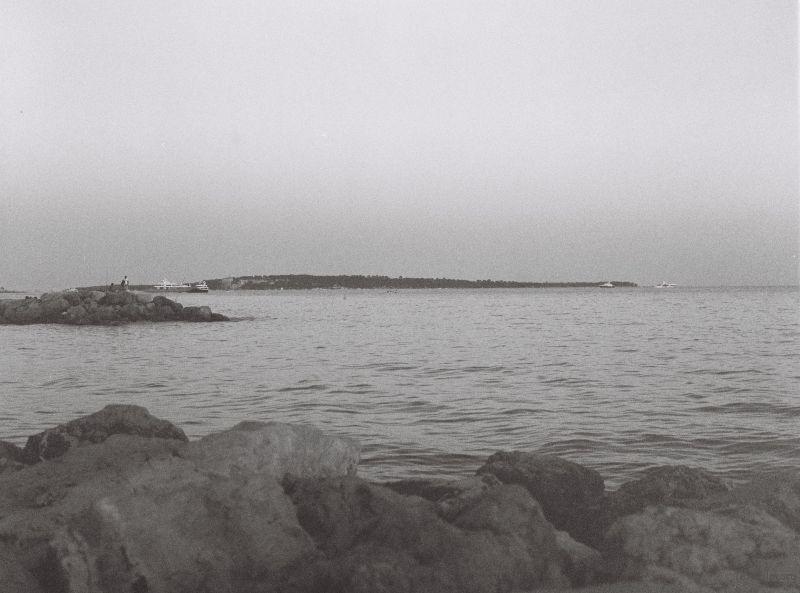 尼斯的海岸线