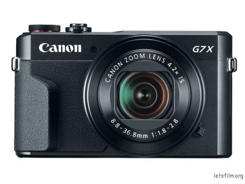 """1"""" 画幅的 Canon G7X"""