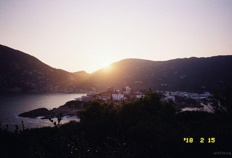 在石澳拍的日落