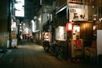 [17582] 冬夜日本的街道