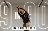 9种男生最常用的拍照姿势