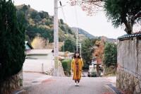 [19494] 不枉走了很长的路上山坡,偶遇到可爱的柴犬它也和我们一起赏枫,好像每个转角都有小惊喜。
