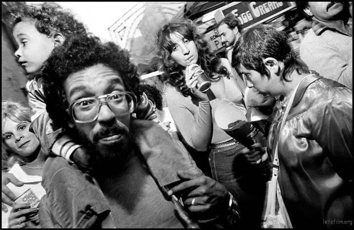 Photo byby Bruce Gilden, 1984, New York City
