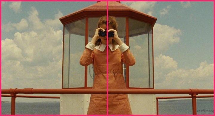 《月升王国》电影截图, Wes Anderson 导演作品