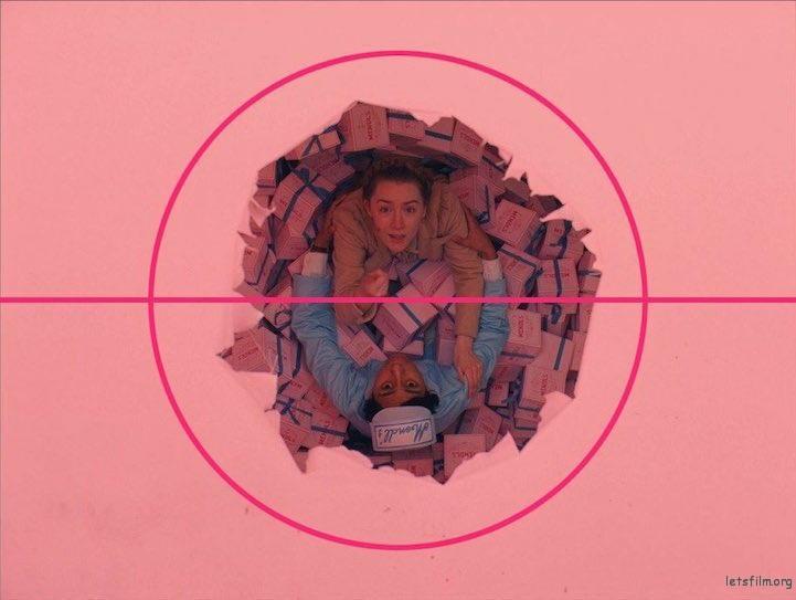 《布达佩斯大饭店》电影截图, Wes Anderson 导演作品